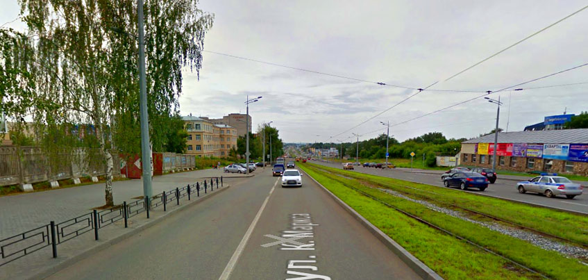 10 августа улицу Карла Маркса в Ижевске частично перекроют из-за открытия Центральной мечети