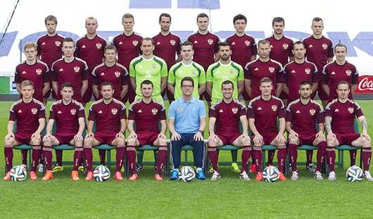 23 футболиста вошли в состав сборной России на ЧМ-2014
