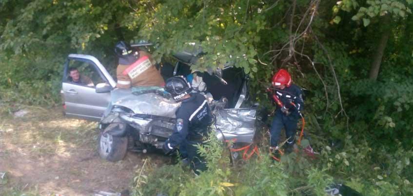 В ДТП в Удмуртии: трое и 2-летний ребенок госпитализированы, двое погибли