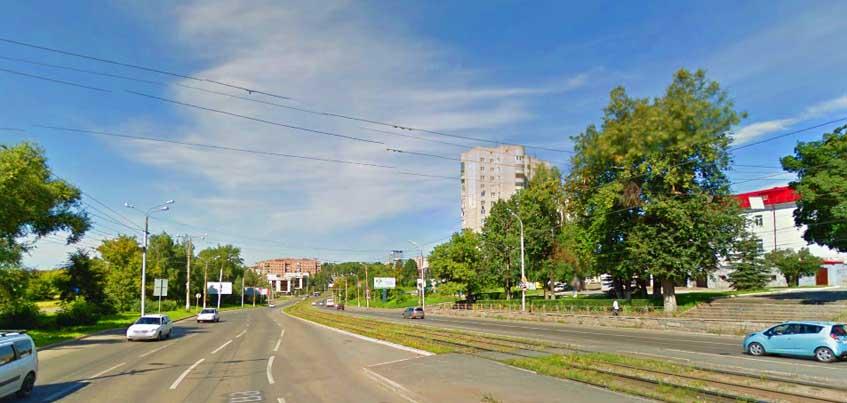 В Ижевске с улицы Кирова уберут знак «Полоса для маршрутных транспортных средств»