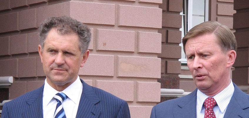 Сергей Иванов в Удмуртии посещал заводы и открывал спортплощадки