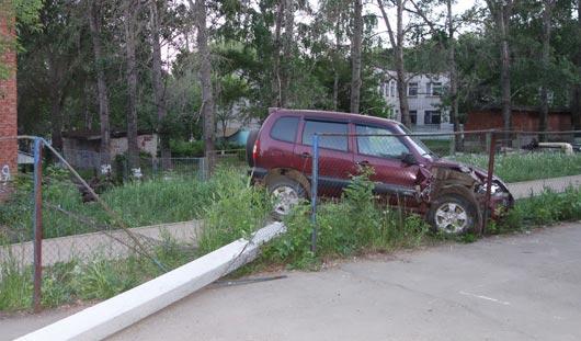 Ижевчанина, который на машине чуть не выехал на детскую площадку, задержали