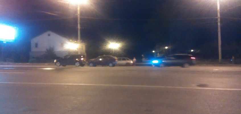 4 автомобиля пострадали в ДТП на ул. К. Маркса в Ижевске
