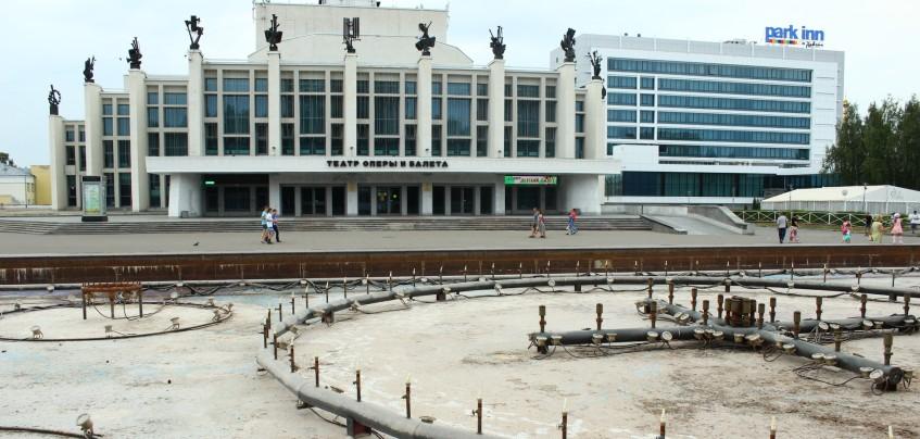 Есть вопрос: Почему в Ижевске на Центральной площади не работал фонтан?