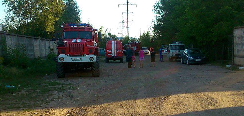 Жителей дома № 6 по проезду Деповскому эвакуировали из-за разлитой соляной кислоты