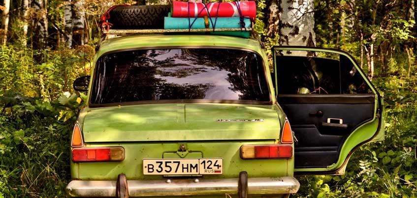 Через Ижевск на «Москвиче» проедут красноярцы, которые отправились в Крым