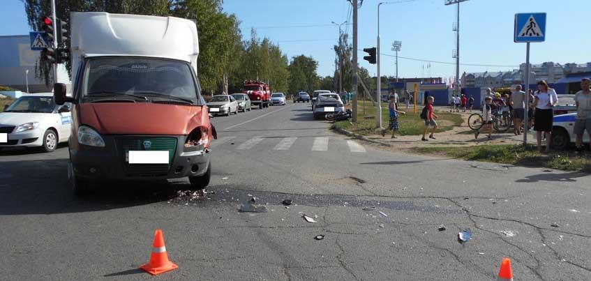 В Удмуртии 17-летний мотоциклист остался инвалидом, столкнувшись с «ГАЗом»