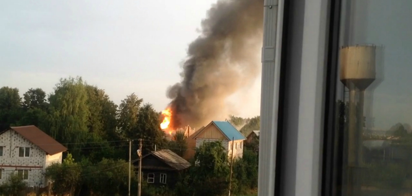 Убийство пожилых супругов, которые сгорели в Хохряках в Удмуртии, раскрыли