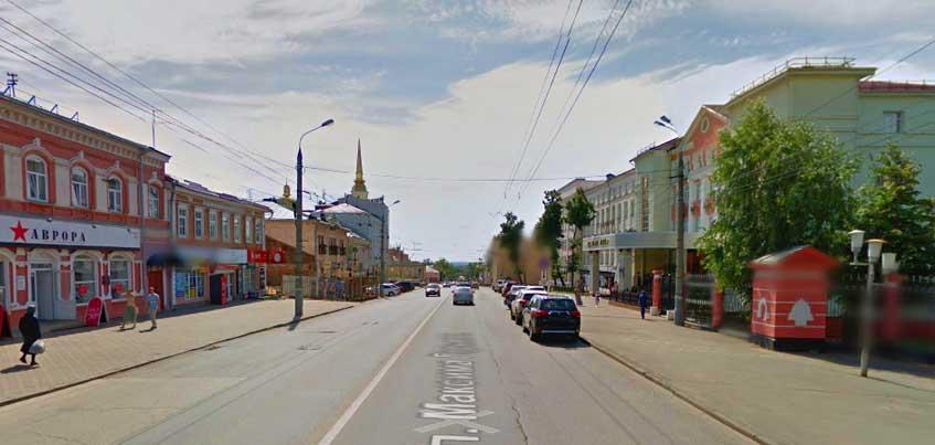 19 августа поздним вечером в Ижевске частично ограничат движение по улице Горького