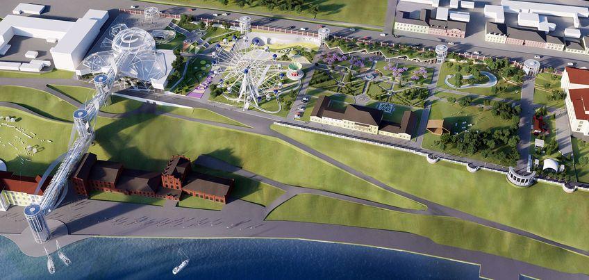 Сад ирисов и пешеходный мост: каким архитекторы видят будущее парка Горького в Ижевске