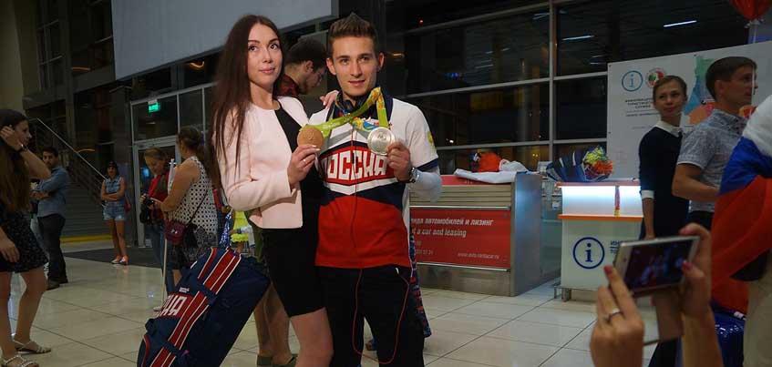 Уроженец Удмуртии Давид Белявский вернулся с Олимпиады медалистом