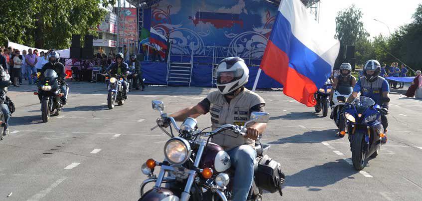 В Ижевске будут отмечать День флага России шествием байкеров