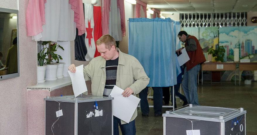 В Ижевске началась подготовка избирательных участков к выборам депутатов Госдумы России
