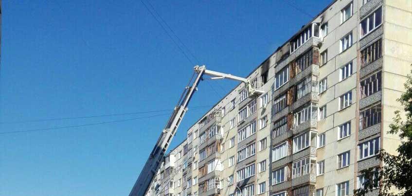 Семье, которая пострадала от пожара в Ижевске, требуется помощь
