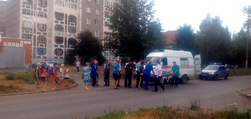 В Ижевске сбили мальчика, который перебегал дорогу в неположенном месте