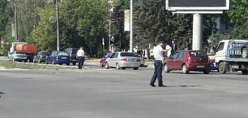 В Ижевске на перекрестке Пушкинская-Кирова не работают светофоры