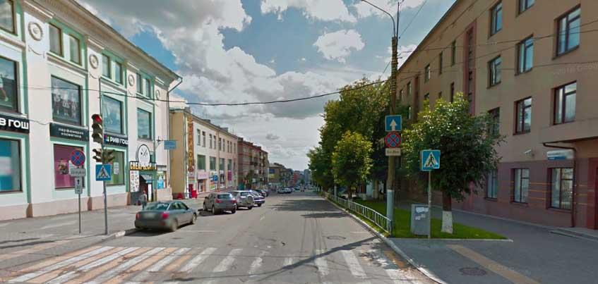 На эту неделю перекрыли движение по участку улицы  Красноармейской в Ижевске