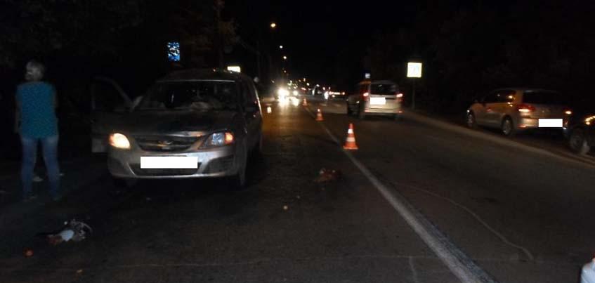 В Сарапуле в Удмуртии водитель сбил 67-летнюю женщину на пешеходном переходе