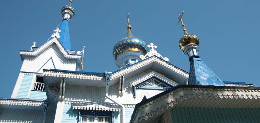 Успенская церковь в Ижевске отмечает свое 100-летие