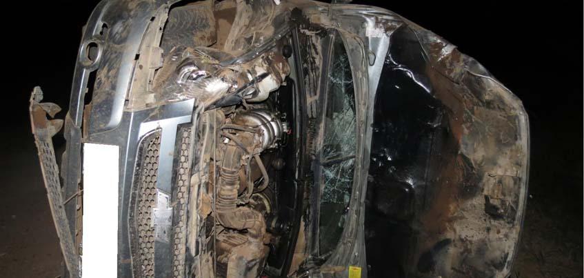 В Удмуртии в ночном ДТП пострадали водитель и пассажир «Нивы»