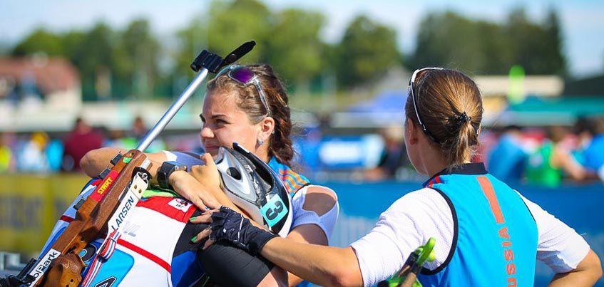 Биатлонисты Удмуртии в составе юниорской сборной России заняли 4 место в эстафете на Чемпионате мира