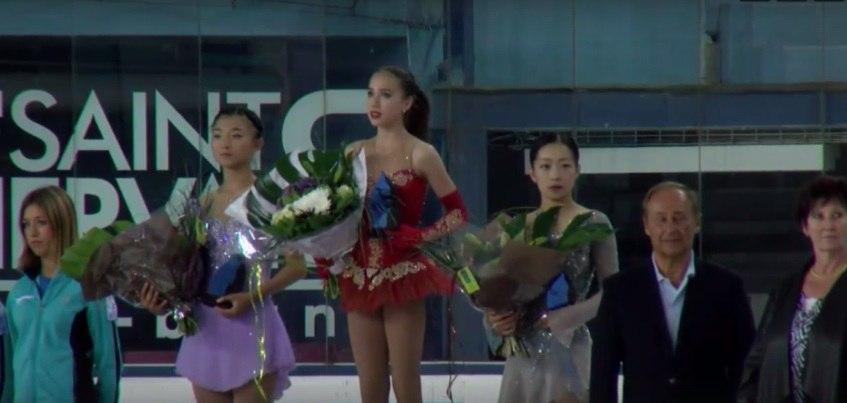 Дочь главного тренера «Ижстали» Ильназа Загитова Алина стала победительницей Гран-при по фигурному катанию