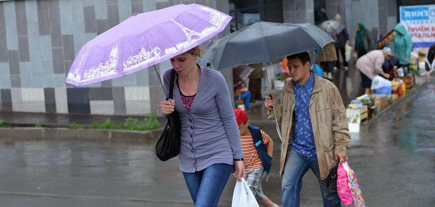 28 августа в Ижевск придут похолодание и дожди