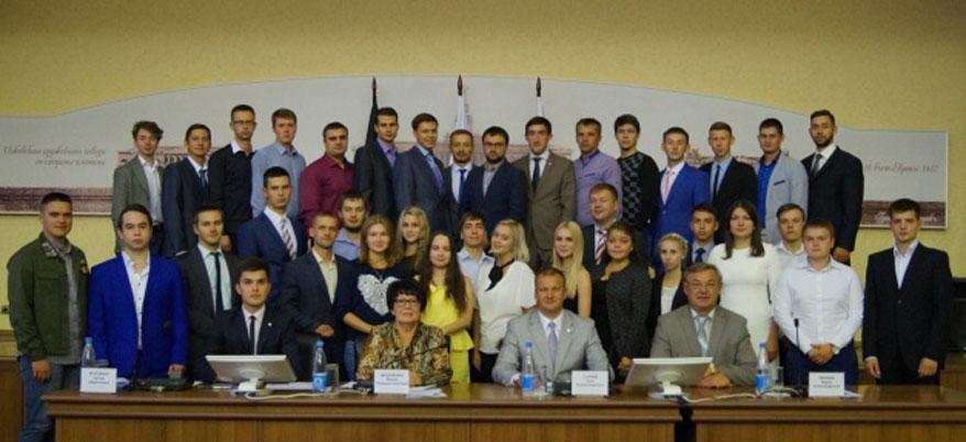 В Ижевске состоялось первое заседание Молодежного парламента при Городской думе