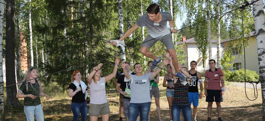 Команда молодых и активных