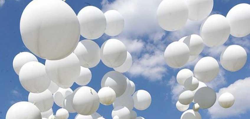 В День солидарности в борьбе с терроризмом в небо Ижевска запустят белые шары