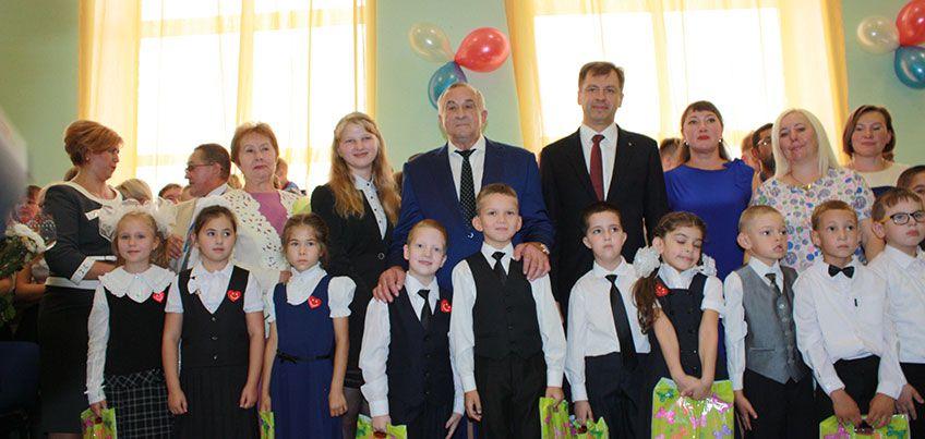Сбербанк преподнес подарок на День знаний ижевской школе-интернату №15