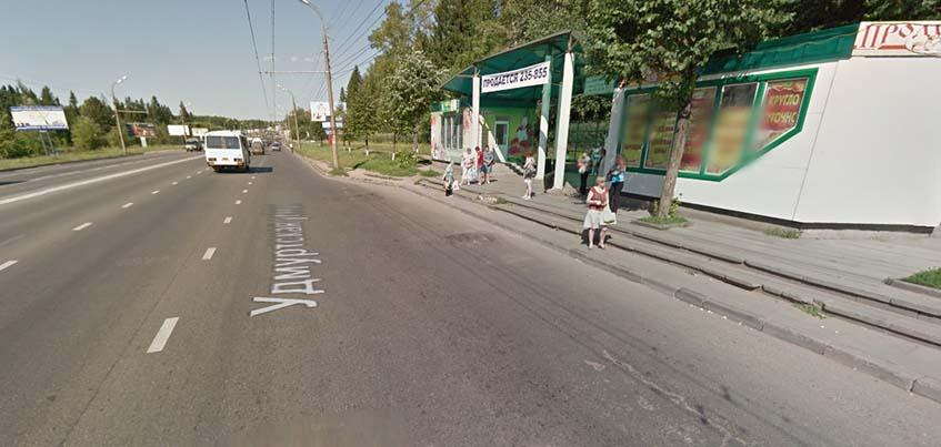 На следующей неделе в Ижевске на Удмуртской поставят новую остановку