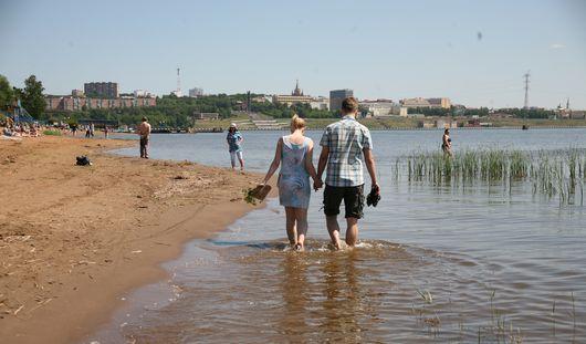 Еще два пляжа открыли в Удмуртии