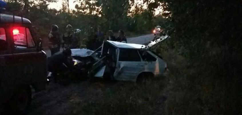 В Воткинске в Удмуртии в лобовом столкновении пострадало несколько человек