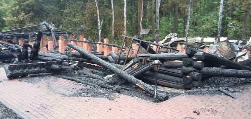 В Ижевске произошел пожар в кафе «Теремок»