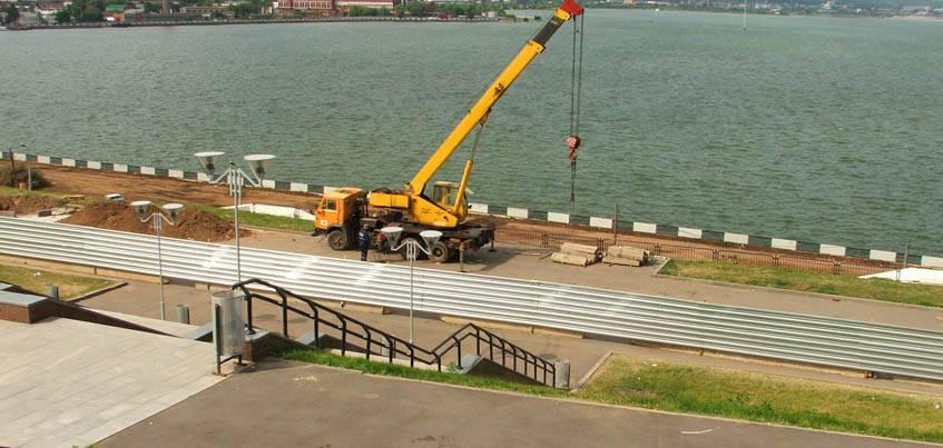 Набережную ижевского пруда продолжат реконструировать