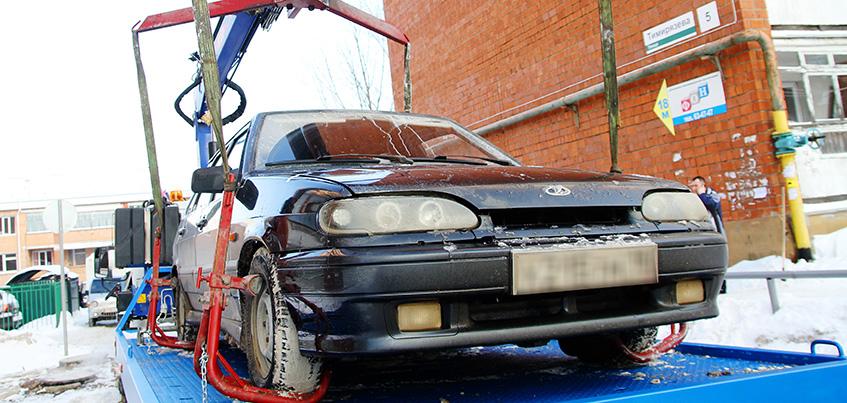 В Удмуртии внесут изменения в закон об эвакуации задержанных автомобилей