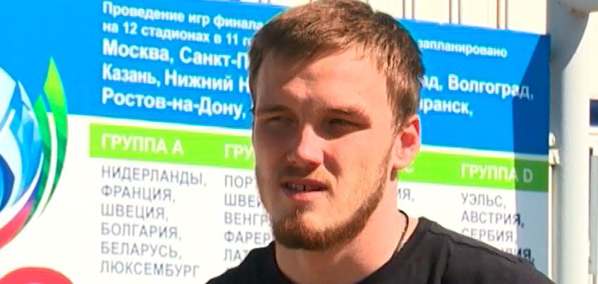 Воспитанник ижевской школы футбола Никита Медведев провел свой дебютный матч за ФК «Ростов»