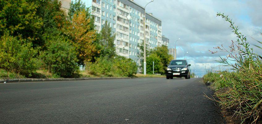 Почему на улице Союзной в Ижевске сняли новый асфальт?