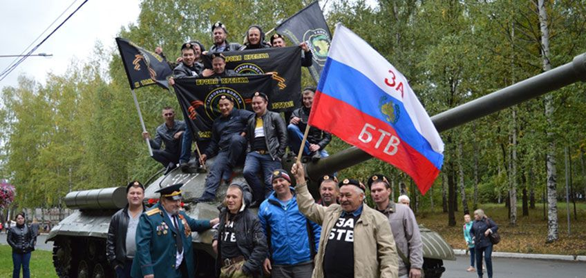 В Ижевске отметили День танкиста