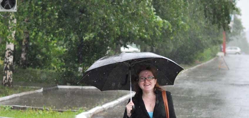 Скандинавский циклон принесет Удмуртии сильные дожди