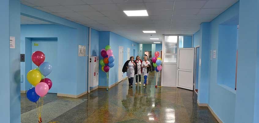 В Ижевске после капитального ремонта открыли новую детскую больницу