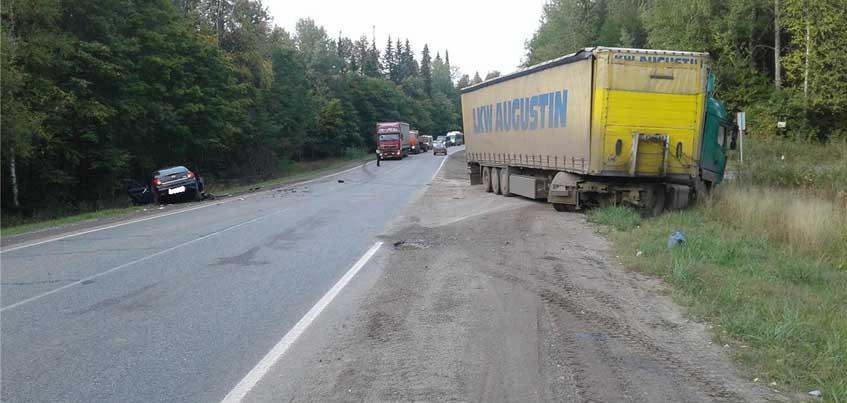 В Якшур-Бодьинском районе Удмуртии в ДТП с «МАЗом» погиб 31-летний мужчина