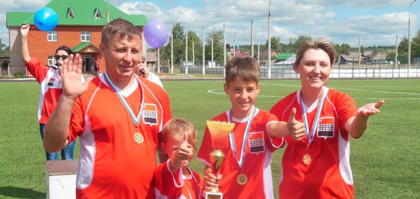 Семья Кощеевых из Удмуртии вышла в финал всероссийского конкурса «Спортивная семья-2016»