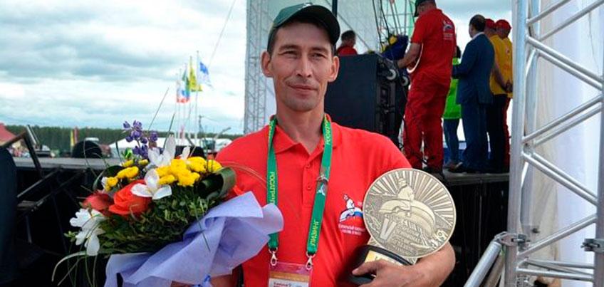 Пахарь из Удмуртии Вадим Зарецких стал 25 на Чемпионате в Британии