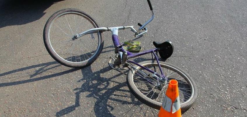 Водитель сбил 11-летнего велосипедиста и скрылся с места ДТП в Ижевске