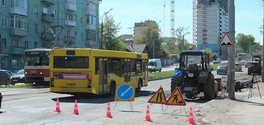 Депутатам Гордумы Ижевска рассказали о ремонте улично-дорожной сети в городе