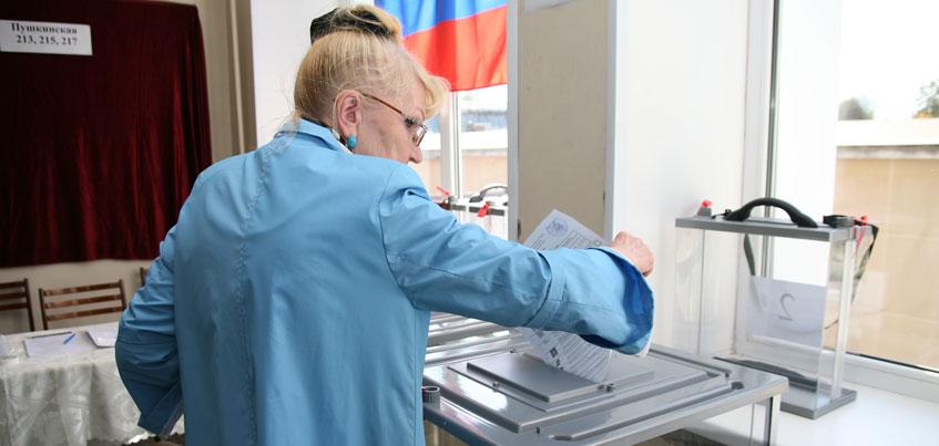 В Ижевске стартовали выборы в Госдуму России