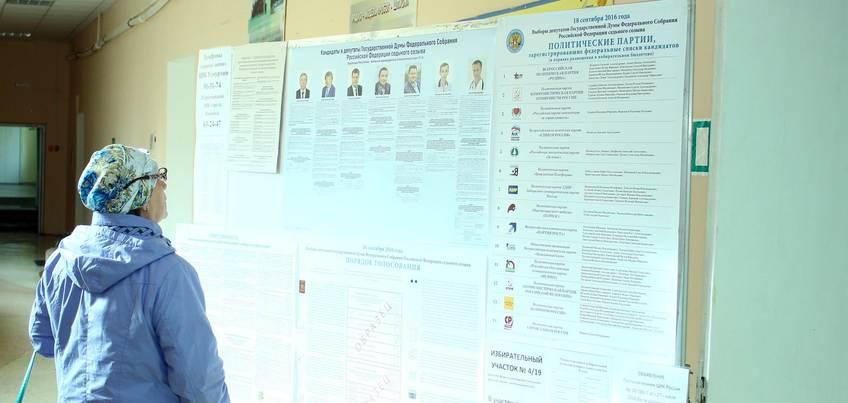 К 12 часам дня в Удмуртии проголосовали 18,38% жителей
