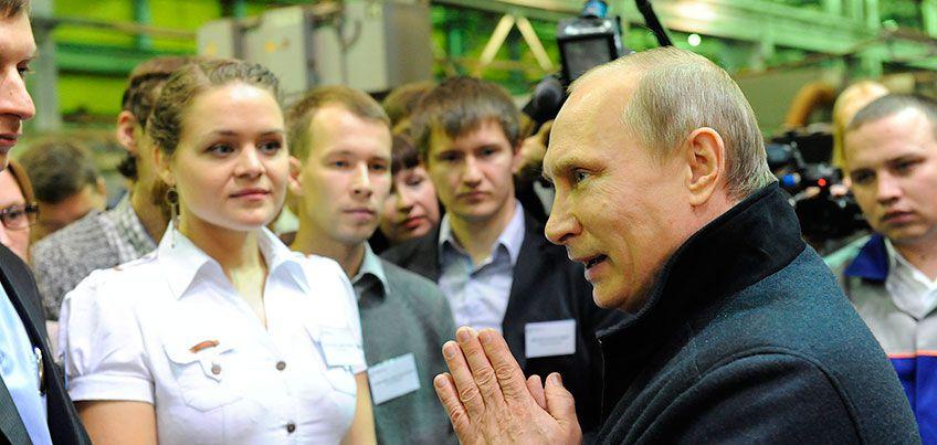 7 визитов Владимира Путина в Ижевск